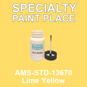 AMS-STD-13670 Lime Yellow - Federal Standard 595 2oz bottle