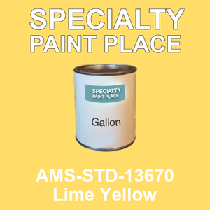 AMS-STD-13670 Lime Yellow - Federal Standard 595 gallon