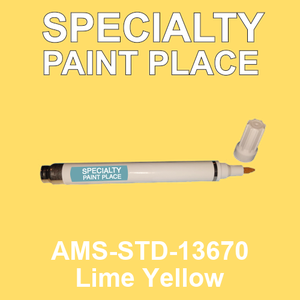 AMS-STD-13670 Lime Yellow - Federal Standard 595 pen