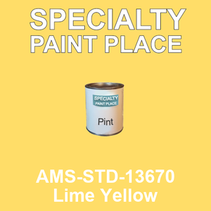 AMS-STD-13670 Lime Yellow - Federal Standard 595 pint
