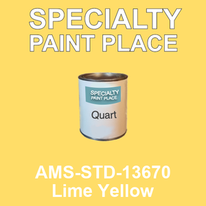AMS-STD-13670 Lime Yellow - Federal Standard 595 quart