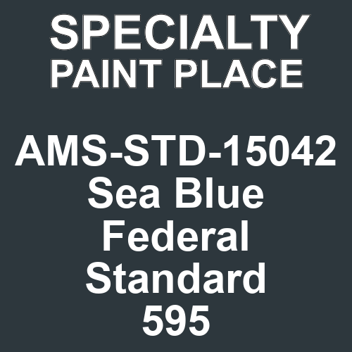 AMS-STD-15042 Sea Blue - Federal Standard 595 - Touch-Up Paint - pint