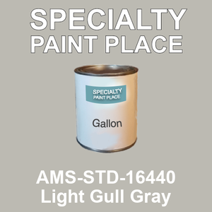 AMS-STD-16440 Light Gull Gray - Federal Standard 595 gallon