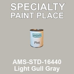 AMS-STD-16440 Light Gull Gray - Federal Standard 595 pint