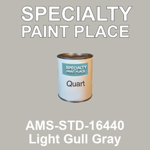 AMS-STD-16440 Light Gull Gray - Federal Standard 595 quart