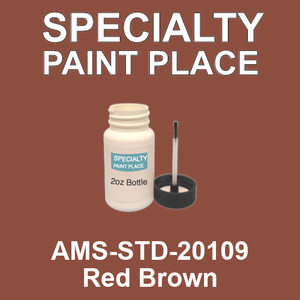 AMS-STD-20109 Red Brown - Federal Standard 595 2oz bottle