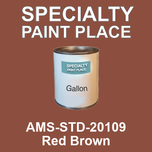 AMS-STD-20109 Red Brown - Federal Standard 595 gallon
