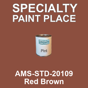 AMS-STD-20109 Red Brown - Federal Standard 595 pint