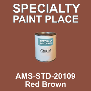 AMS-STD-20109 Red Brown - Federal Standard 595 quart