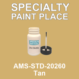 AMS-STD-20260 Tan - Federal Standard 595 2oz bottle