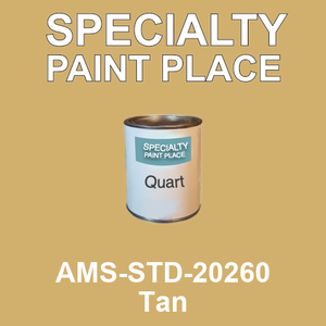 AMS-STD-20260 Tan - Federal Standard 595 quart