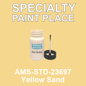 AMS-STD-23697 Yellow Sand - Federal Standard 595 2oz bottle