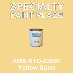 AMS-STD-23697 Yellow Sand - Federal Standard 595 pint