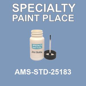 AMS-STD-25183  - Federal Standard 595 2oz bottle
