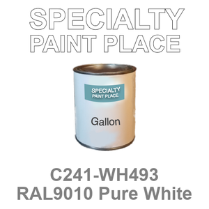 C241-WH493 RAL9010 Pure White - Cardinal gallon