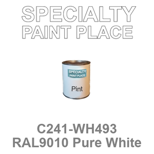 C241-WH493 RAL9010 Pure White - Cardinal pint
