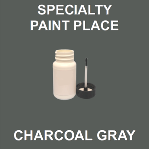CHARCOAL GRAY - Architectural Touch Up Paint - 2oz Bottle with Brush