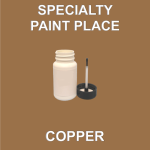 COPPER - Architectural Touch Up Paint - 2oz Bottle with Brush