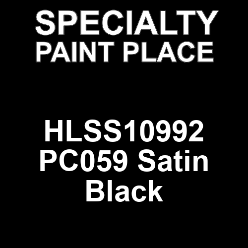 HLSS10992 PC059 Satin Black