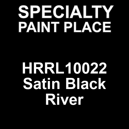 HRRL10022 Satin Black River