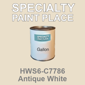 HWS6-C7786 Antique White - Sherwin Williams gallon