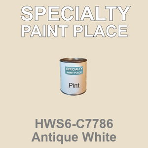 HWS6-C7786 Antique White - Sherwin Williams pint