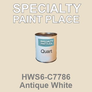 HWS6-C7786 Antique White - Sherwin Williams quart