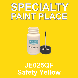 JE025QF Safety Yellow - AkzoNobel 2oz bottle