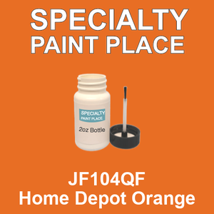 JF104QF Home Depot Orange - AkzoNobel 2oz bottle