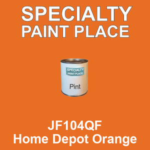 JF104QF Home Depot Orange - AkzoNobel pint