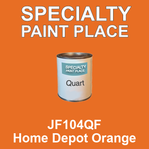JF104QF Home Depot Orange - AkzoNobel quart