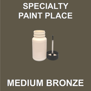 MEDIUM BRONZE - Architectural Touch Up Paint - 2oz Bottle with Brush