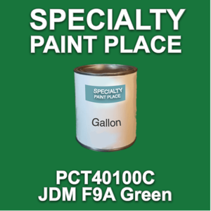 PCT40100C JDM F9A Green - PPG - Gallon Can