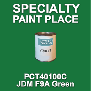 PCT40100C JDM F9A Green - PPG - Quart Can