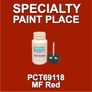 PCT69118 MF Red - PPG - 2oz Bottle with Brush