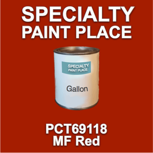PCT69118 MF Red - PPG - Gallon Can