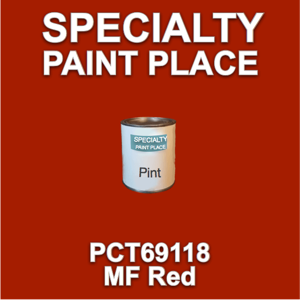 PCT69118 MF Red - PPG - Pint Can