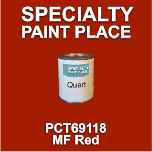 PCT69118 MF Red - PPG - Quart Can