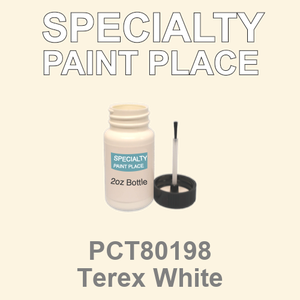 PCT80198 Terex White - PPG - 2oz Bottle with Brush