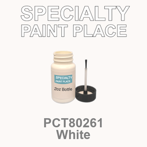 PCT80261 white - PPG - 2oz Bottle with Brush