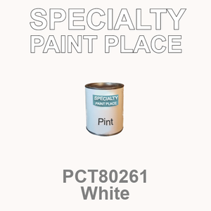 PCT80261 white - PPG - Pint Can