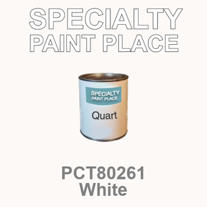 PCT80261 white - PPG - Quart Can
