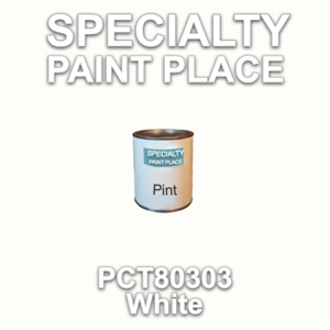 PCT80303 White - PPG - Pint Can