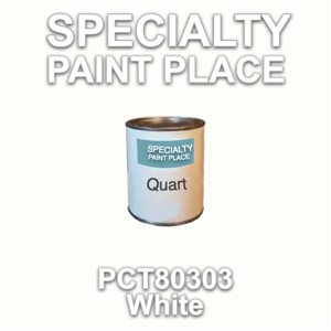 PCT80303 White - PPG - Quart Can