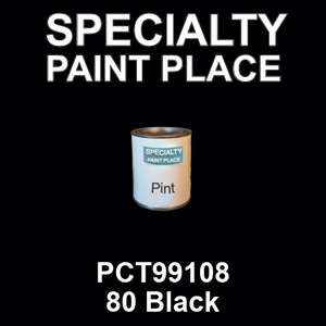 PCT99108 80 Black - PPG pint