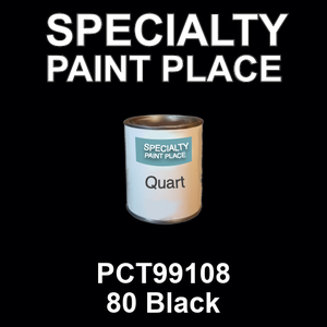 PCT99108 80 Black - PPG quart
