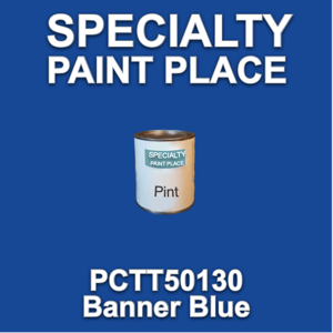 PCTT50130 Banner Blue - PPG - Pint Can
