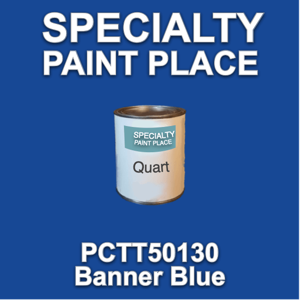 PCTT50130 Banner Blue - PPG - Quart Can