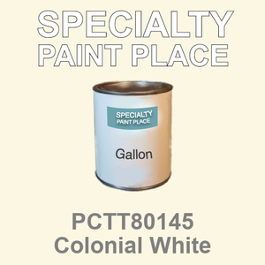 PCTT80145 Colonial White - PPG - Gallon Can