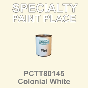 PCTT80145 Colonial White - PPG - Pint Can